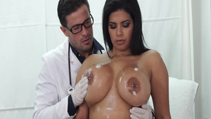 Doctor Sheila Ortega ass fucking scene