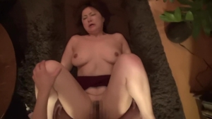 Exotic babe hawt japanese mature cock sucking HD