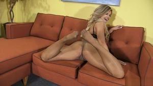 Solo Adriana Sephora in stockings blonde haired good fuck