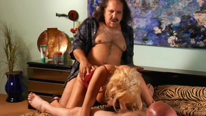 The best sex with Sunset Thomas next to Ron Jeremy