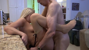 Young blonde hair cock sucking in HD