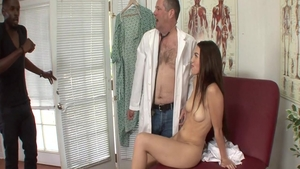 Bubble butt bisexual Tiffany Doll hardcore blowjob cum