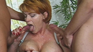 Annabel Massina and Conny Dachs getting facial