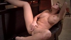 Dirty Charisma Cappelli blonde playing with sex toys sex tape