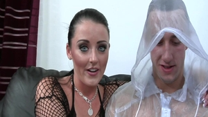 Hard squirt along with busty brunette Sophie Dee