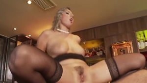 Young blonde haired Daria Glover agrees to dick sucking