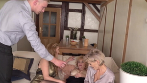 Hard fucking in the company of hottest stepmom