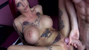 Big boobs Anna Bell Peaks and Anna Bell dick sucking