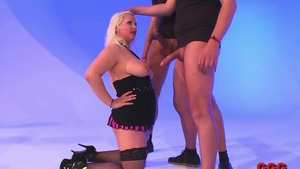 Shaved caucasian chick extreme interracial banging HD