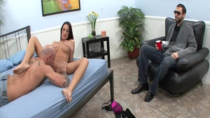 Big tits Kortney Kane housewife cumshot sex video