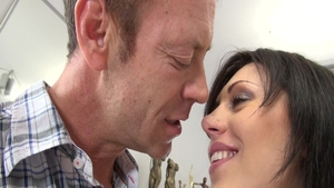 Good fucking in company with amazing pornstar