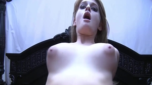 Teen Faye Reagan receiving facial cum loads