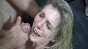Teen Cory Chase facial video