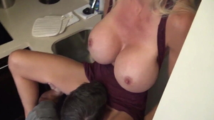 Brooke Tyler is really big tits mature
