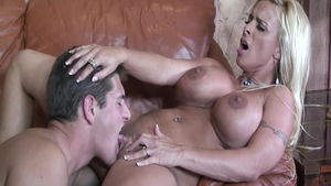 Shaved and big butt babe Holly Halston hard doggystyle