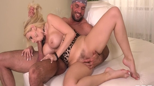 Real sex with Larry Steel and Angel Wicky