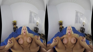 Busty and large boobs Alura Jenson ass fucked