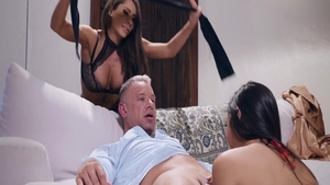 Rough hard ramming together with very hot mature Gianna Dior