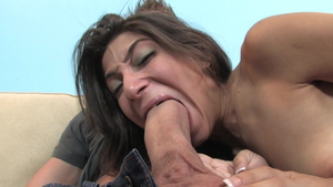 Amazing latina brunette Allie Jordan enjoys ramming hard in HD