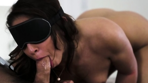 Raw tied up in the company of brunette