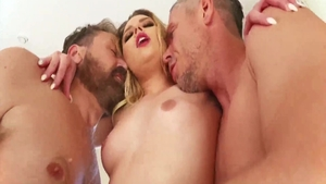 First time threesome along with Aubrey Sinclair