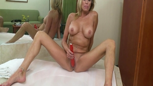 Super hot stepmom blowjob