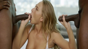 Horny Carter Cruise doggy style sex tape