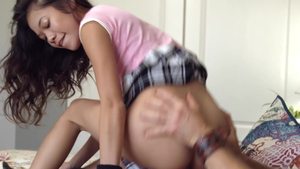 Small tits asian teen Vina Sky likes the best sex in HD