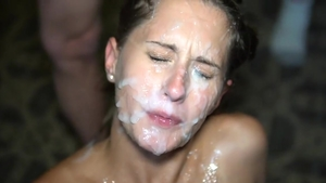 Wife getting a facial in HD