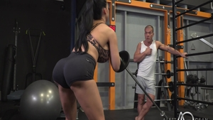 Hardcore plowing hard together with Aletta Ocean