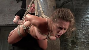BDSM together with large boobs babe Cassidy Klein