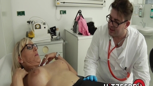 Sloppy fucking along with very hot doctor Lana Vegas