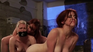 Submissive BDSM together with redhead Ella Nova