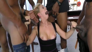 Rough orgy accompanied by wild american herie Deville