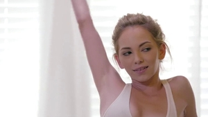Hard sex together with small boobs pornstar