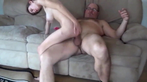 Teen chick smashed by monster cock daddy
