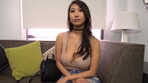 Titty fucking at castings HD