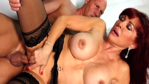 Hard raw fucking starring dirty MILF Sexy Vanessa