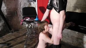 BDSM in the company of MILF