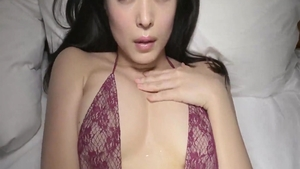 Hard sex in company with beautiful japanese