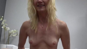 Very small tits granny raw blowjobs at the castings