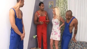 Cindy Dollar gangbang sex tape
