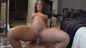 Amazing Rahyndee James finds irresistible the best sex