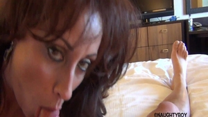 Big boobs & hawt Eva Notty fucked in the ass in hotel