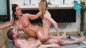 Big tits Cherie Deville likes plowing hard
