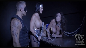 Large tits MILF Summer Day domination toys