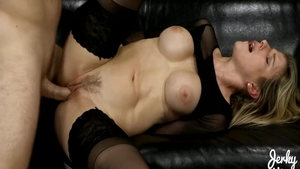 Very hawt babe Cory Chase has a passion for hard slamming