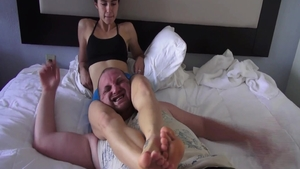Nailed rough together with amateur