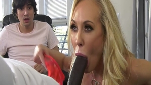 Rough hard pounding in the company of Brandi Love