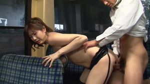 Titty fucking in the bus japanese in HD